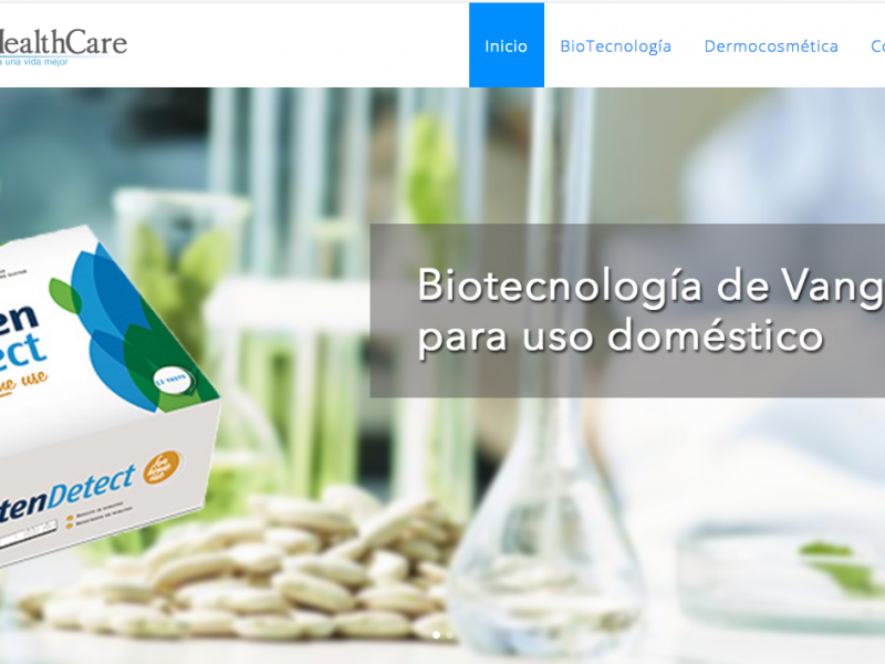 Sitio Web Bio-healthcare