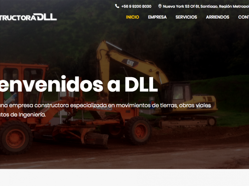 Sitio Web Constructora DLL
