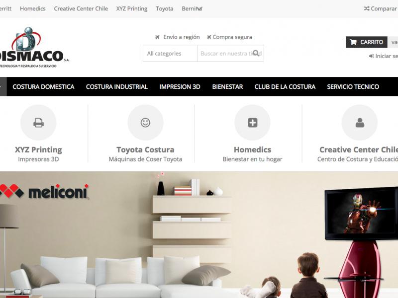 Dismaco Web eCommerce
