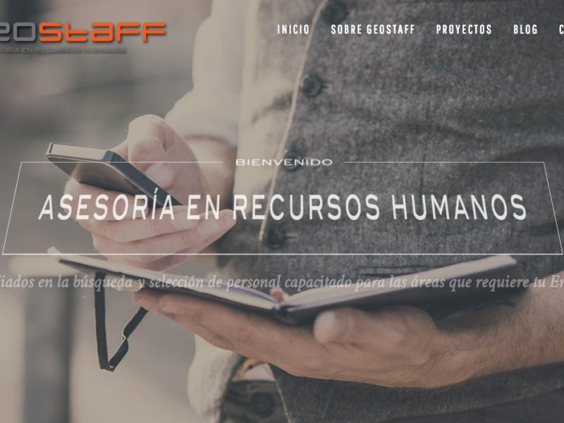 Sitio Web GeoStaff