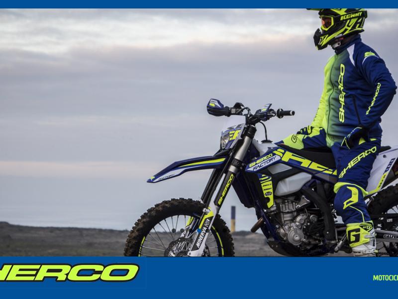 Sitio Web Catálogo Sherco Motorcycles