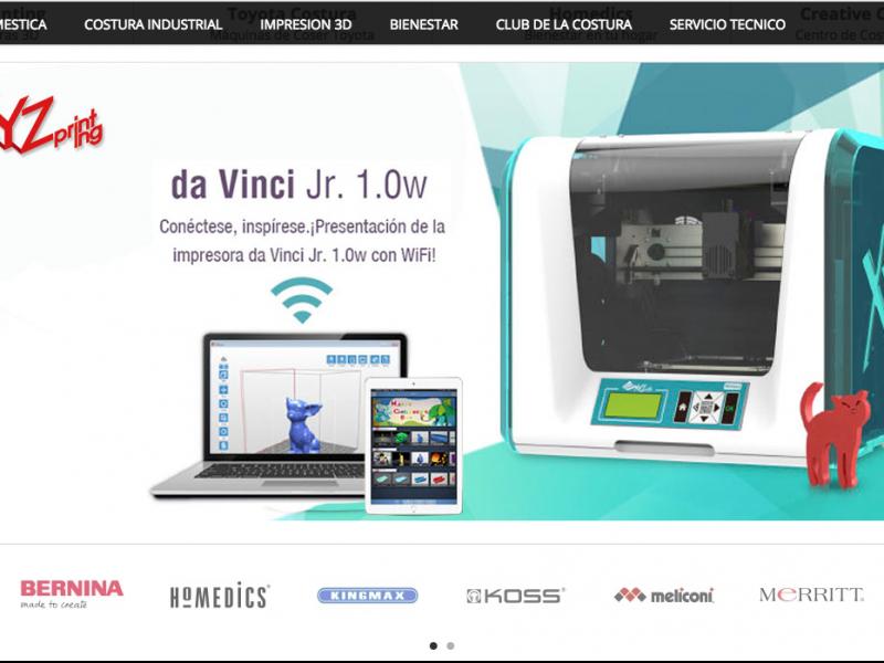 Sitio Web eCommerce XYZ Printing