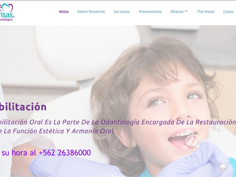 Sitio Web CreoSonrisas
